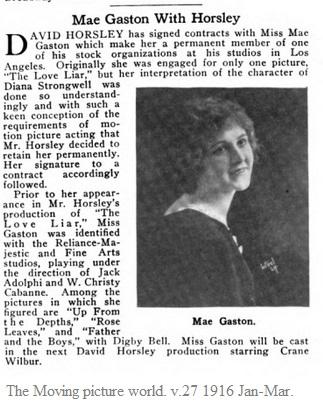 Mae Gaston signing
