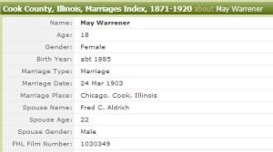 marriage index