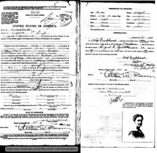 sigrid ship passport