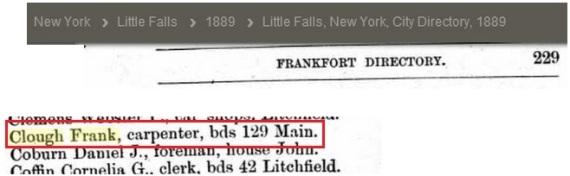 city directory 1889