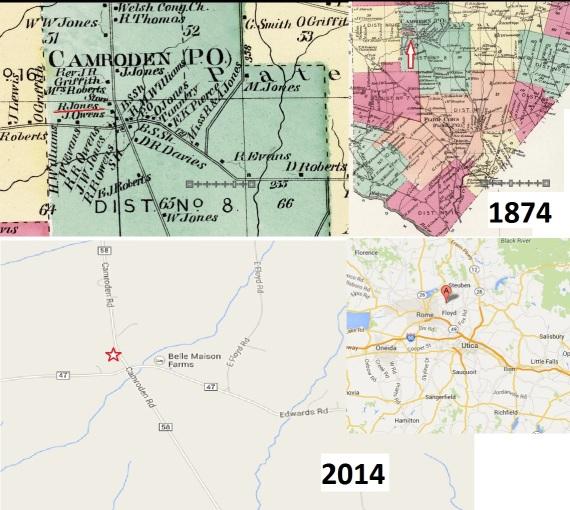 Camroden map