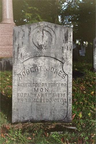 robert jones grave