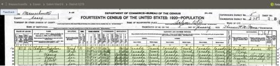 Napoleon census