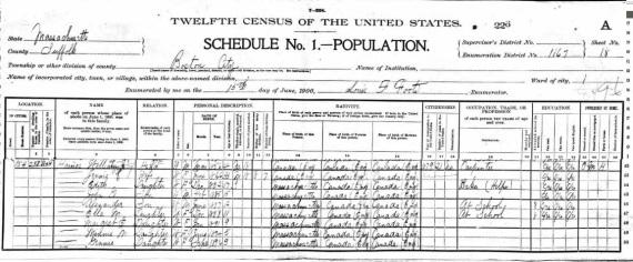 1900 census