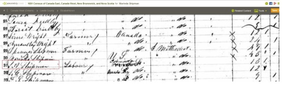 Silas Shipman 1851