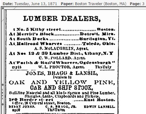 Lumber dealers