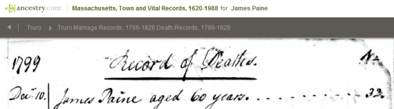 James death