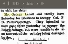 1893 vacation