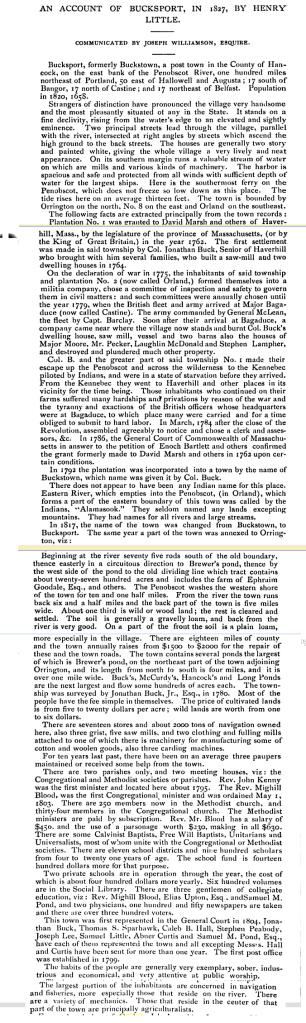 bucksport 1827