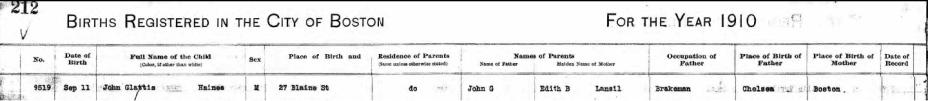 Jack jr birth