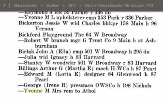Yvonne 1941