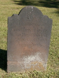 Godfrey grave