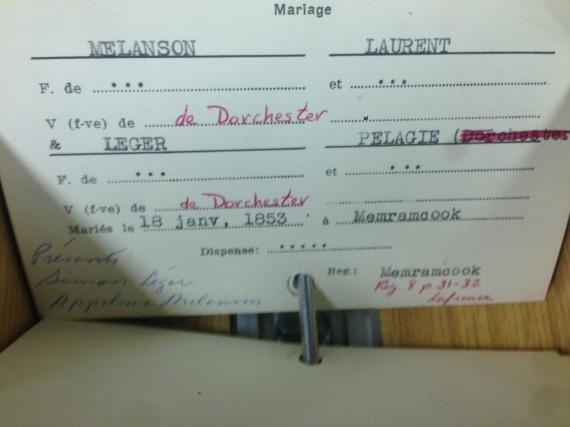 index card Melanson