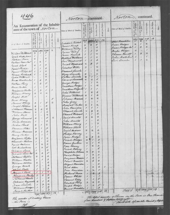 1790 census
