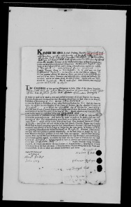 John Hall died 1708 pg 3