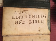 alice edith's bible