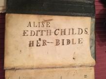 alice edith's bible