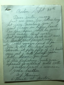 another letter