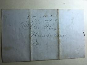 letter from Alex envelope