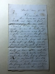 letter from Alex page 1
