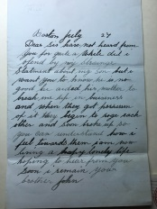 letter from John to Mary