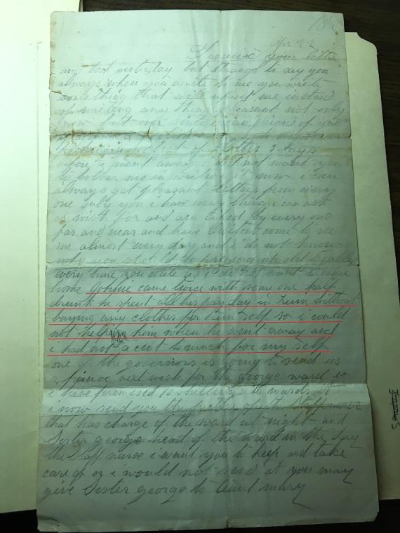 letter from joseph