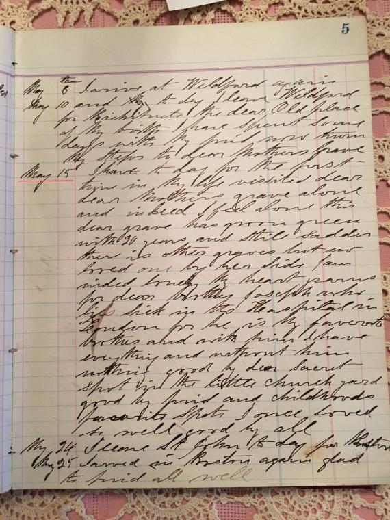 May 15 diary